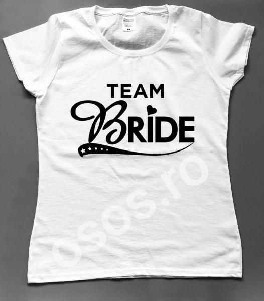Tricou damă personalizat - Team Bride 0
