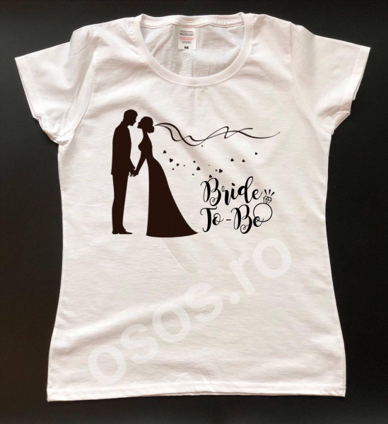 Tricou damă personalizat - Bride To Be 0