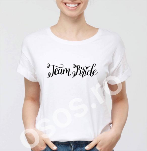 Tricou damă personalizat - Team bride. 0