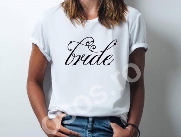 Tricou damă personalizat - Bride. 0