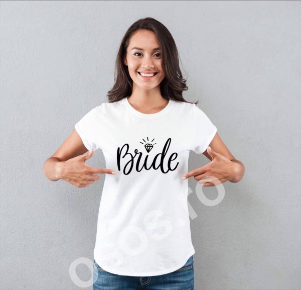 Tricou personalizat - Bride 0