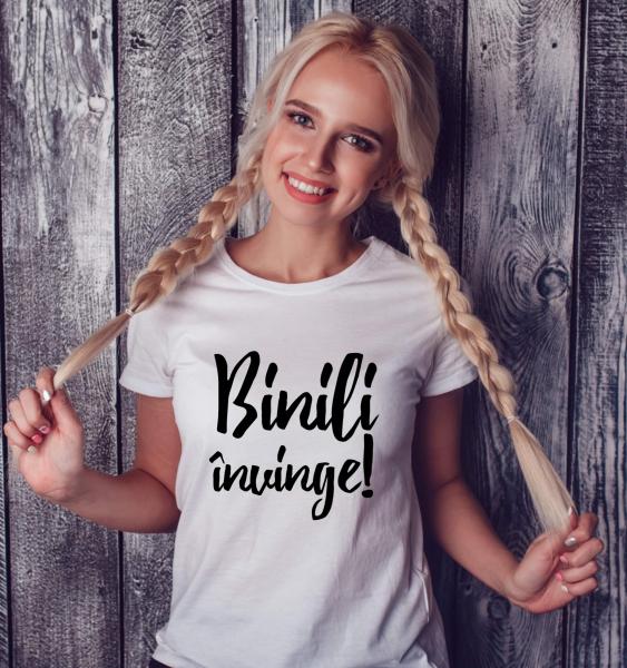 Tricou damă personalizat - Binili învinge 0