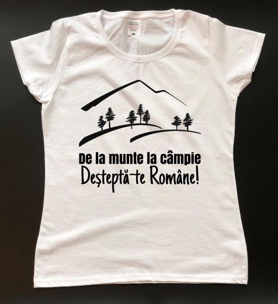 Tricou damă personalizat - Deşteaptă-te Române! [0]