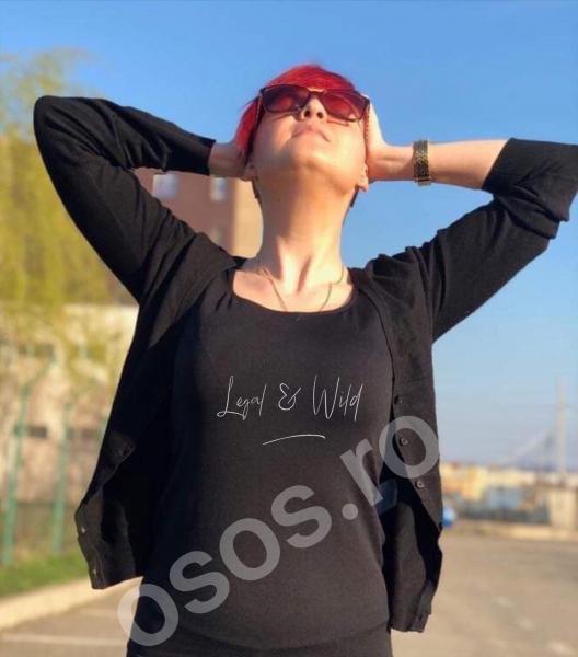Tricou damă personalizat - Legal & Wild [0]