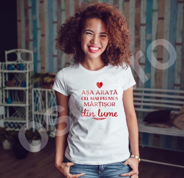 Tricou damă personalizat - Aşa arată cel mai frumos marţişor din lume [0]