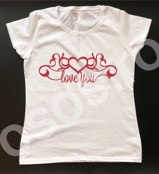 Tricou damă personalizat - Love 0