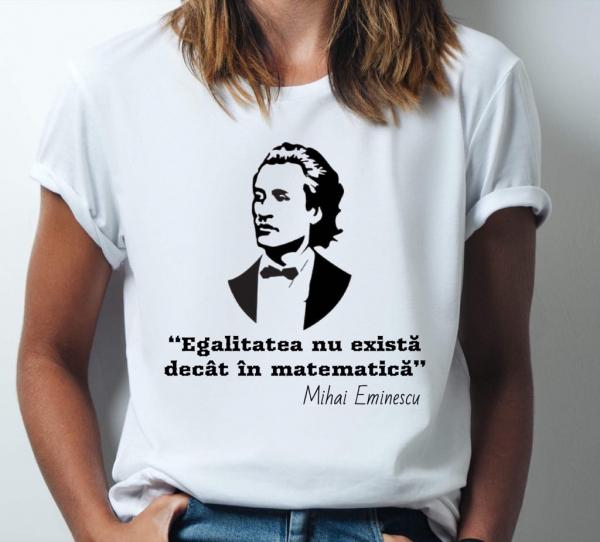 Tricou damă personalizat - Egalitatea nu există decât în matematică 0