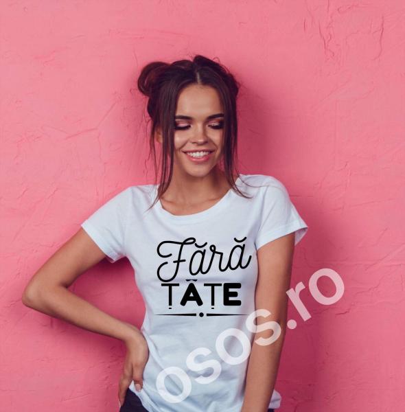 Tricou damă personalizat - Fără ţâţe 0