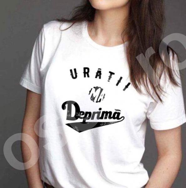 Tricou damă - Urâţii mă deprimă 0