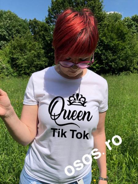 Tricou damă - Tik Tok Queen [0]