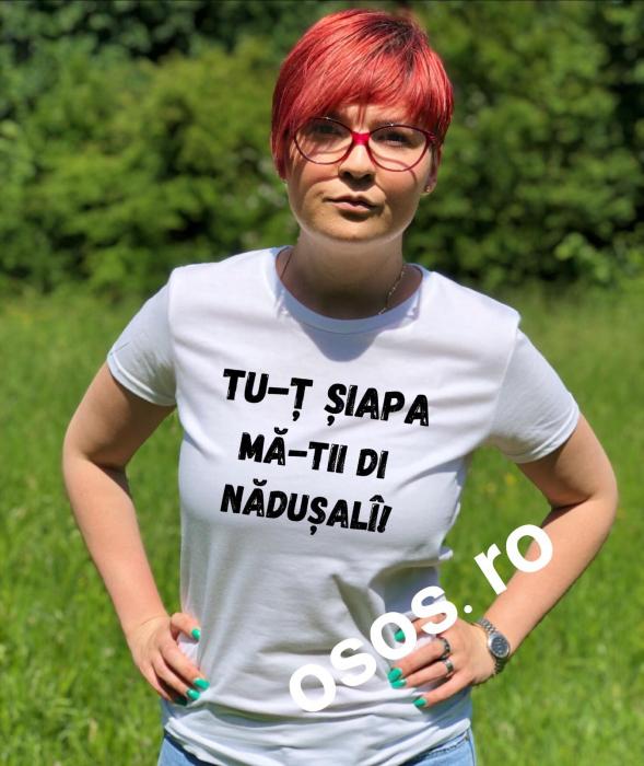 Tricou damă personalizat - Tu-T Siapa Ma-Tii Di Nadusali [0]