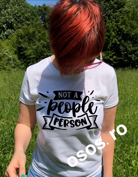 Tricou dama - Not a people person [0]