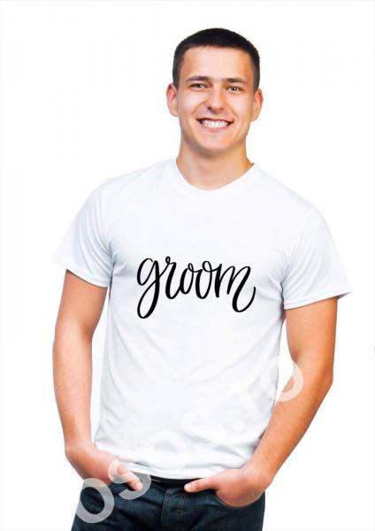 Tricou personalizat bărbătesc - Groom 0