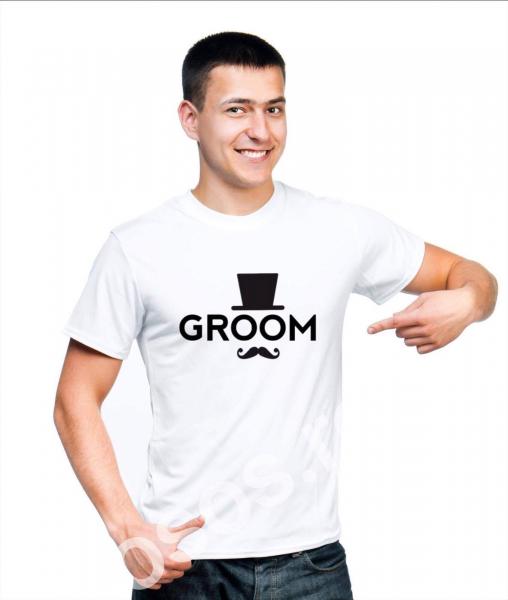 Tricou personalizat bărbătesc - GROOM [0]