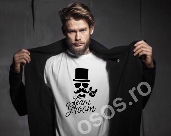 Tricou personalizat bărbătesc - Team Groom 0