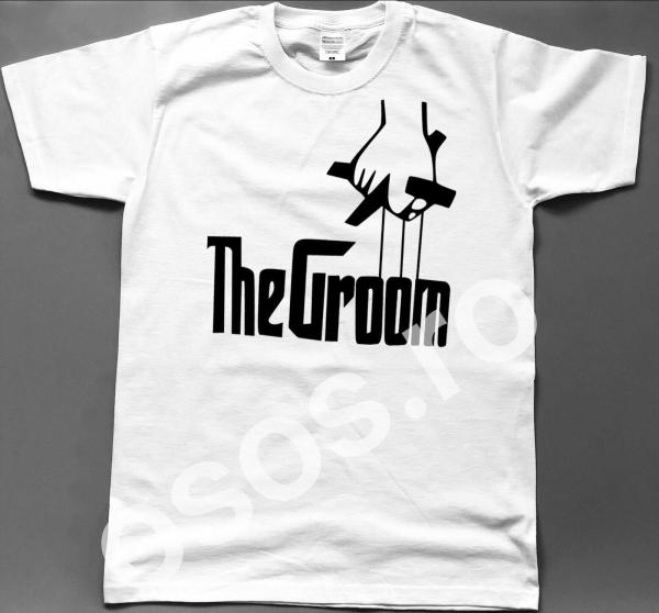 Tricou personalizat bărbătesc - The groom 0