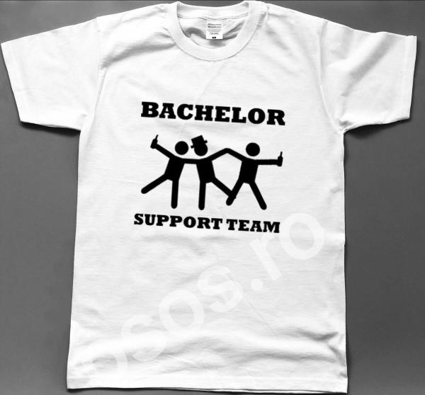 Tricou personalizat bărbătesc - Bachelor support team [0]
