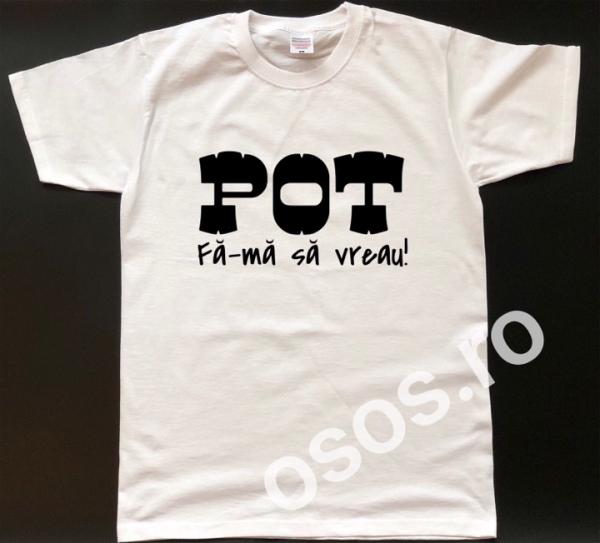 Tricou personalizat bărbătesc - Pot. Fă-mă să vreau 0
