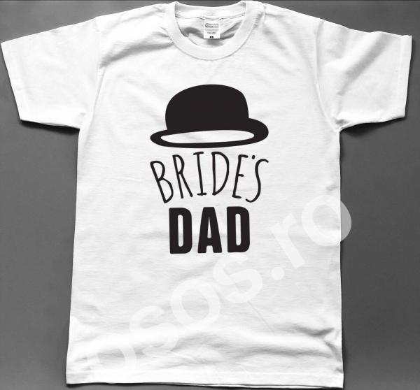 Tricou personalizat bărbătesc - Bride's dad [0]