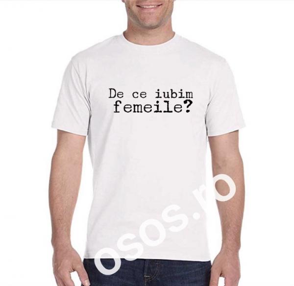 Tricou bărbătesc - De ce iubim femeile? [0]