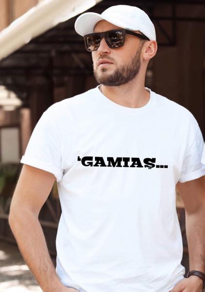 Tricou personalizat bărbătesc - 'gamiaş 0