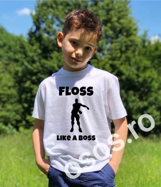 Tricou copii - Floss like a boss 0