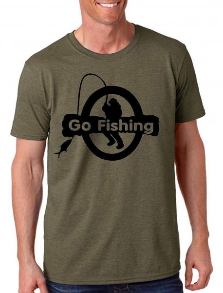 Tricou pescar - Go fishing 0