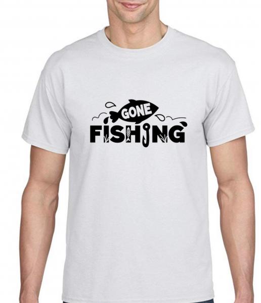 Tricou pescar - Gone fishing [0]