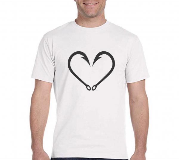 Tricou pescar - Love fishing 0