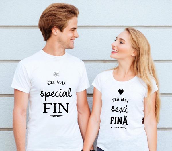 Tricouri cuplu - Fin şi fină 0
