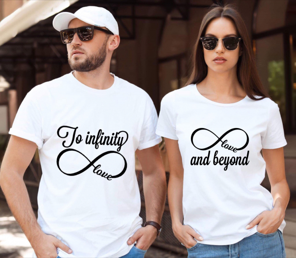 Tricouri cuplu - To infinity and beyond 0