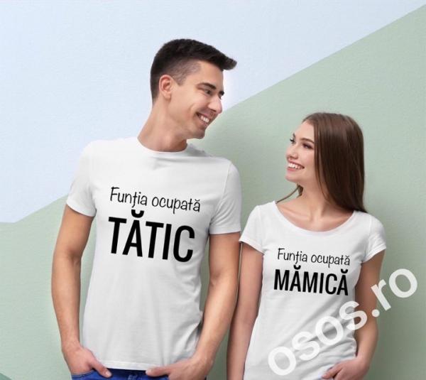 Tricouri cuplu - Tătic şi mămică 0
