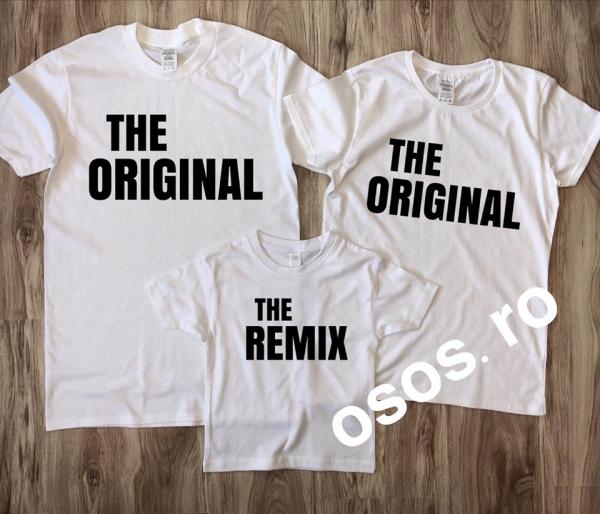Tricouri Familie - The original. The remix [1]