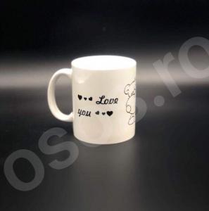Cană personalizată - Love you!0
