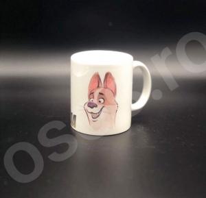 Cană personalizată - cu două feţe - Cafeaaa