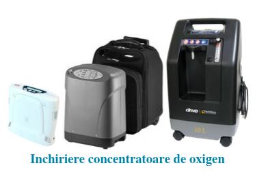 Homepage - Inchiriere concentratoare de oxigen