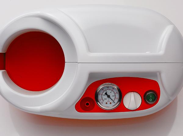 Aspirator Secretii VAC Maxi, 800 ml, 600 mmHg, 46 LPM, fara baterie [4]