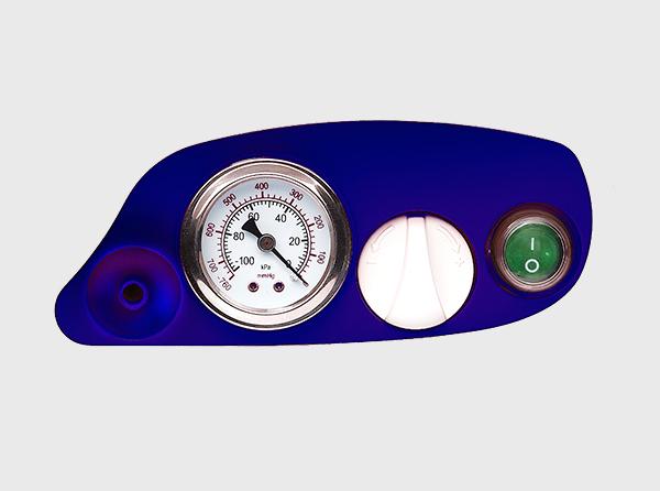 Aspirator Secretii VAC Plus, 800 ml, 600 mmHg, 24 LPM, cu baterie 3