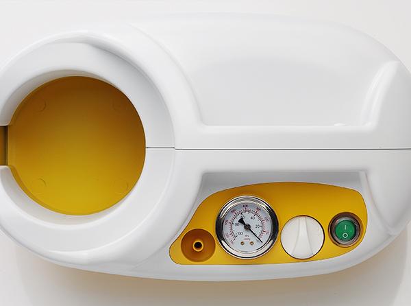 Aspirator Secretii VAC PRO, 800 ml, 600 mmHg, 24 LPM, fara baterie [4]