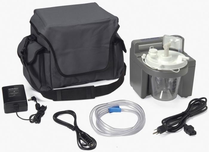 Aspirator Secretii VacuAide, 80-550 mmHg, 27 LPM, fara baterie 2