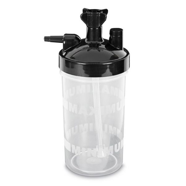 Barbotor - Bol umidificator 3-7 LPM, Supapa 6 PSI, 290 ml 0