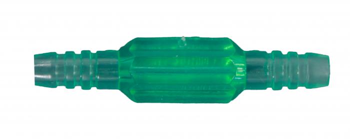 Conector fix, verde, conectare: furtun perimetru la canula nazala/ masca oxigen 1