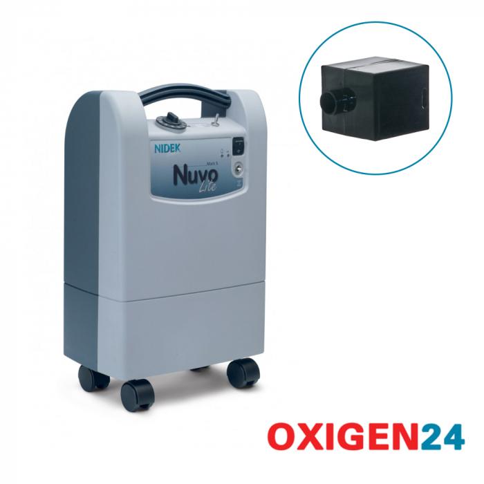 Filtru HEPA - concentrator oxigen Nuvo Lite Mark 5 [0]