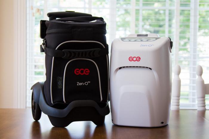 Inchiriere Concentrator Oxigen portabil cu troler Zen-O 1