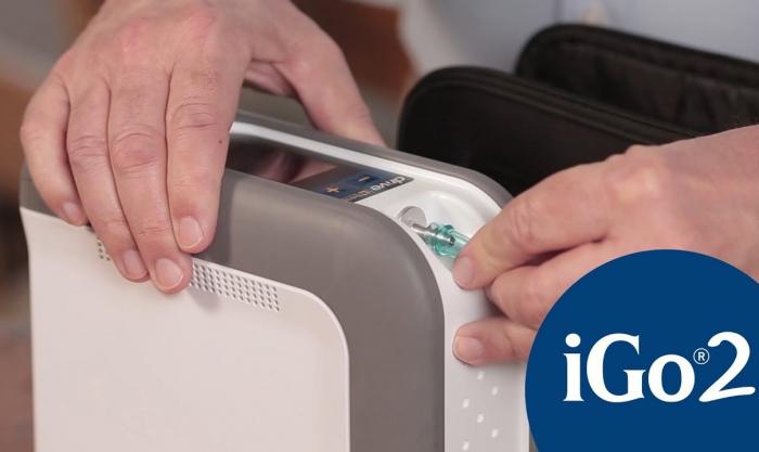 Inchiriere Concentrator Oxigen portabil iGo2 4