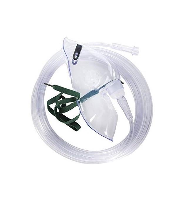 Masca oxigen, Adult, 2.1 m, Concentratie medie - Hudson RCI 0
