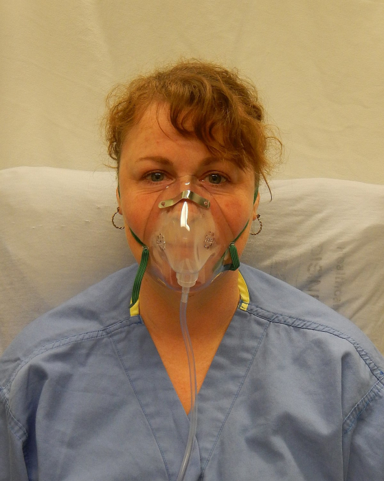 Masca oxigen, Adult, 2.1 m, Concentratie medie - Hudson RCI 3