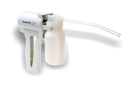 Aspirator Secretii RespiroX 7B-1, manual, vas colector 200 ml, putere aspirare > 300 mmHg 0