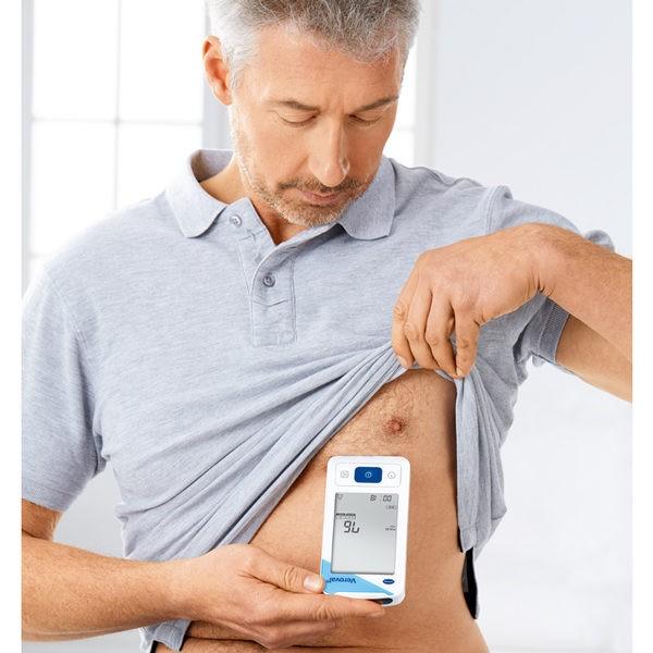 Electrocardiograf si Tensiometru cu determinarea tensiunii arteriale - Veroval ECG 2