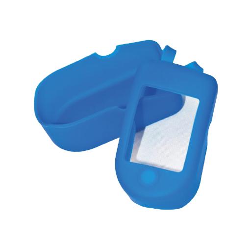Husa protectie Puls Oximetru, siliconica, albastra [0]
